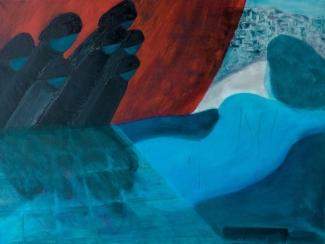 Albert Feddes_Agressie_olieverf op doek_60 x 80