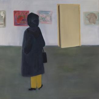 Albert Feddes_Kunst minnen_olieverf op doek_50 x 50