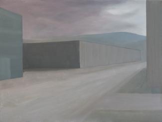 Albert Feddes_Straat_olieverf op doek+60 x 80