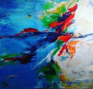 Annemiek van der Hart_Verbeelding-2_acryl op linnen_60x80