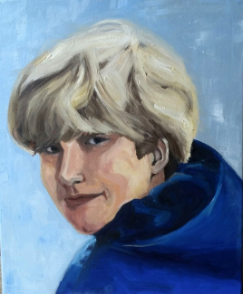Dorie-Trienekens_Portret-kleinzoon_olieverf-op-canvas_50x60