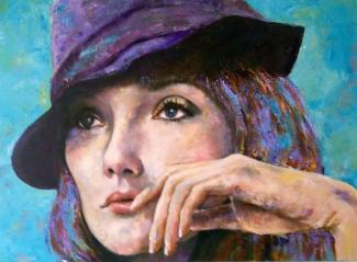 Franca-Kasdorp_Carice-van-Houten_acryl_80x60