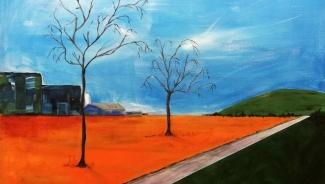 Mieke Walraven_Zonder titel 1_acryl op doek_60x80