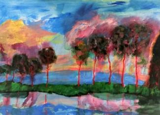 Mieke Walraven_Zonder titel 2_acryl op doek_60x80