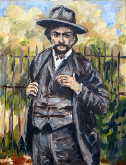 Theo Raaijmakers_Claude Debussy_40x30