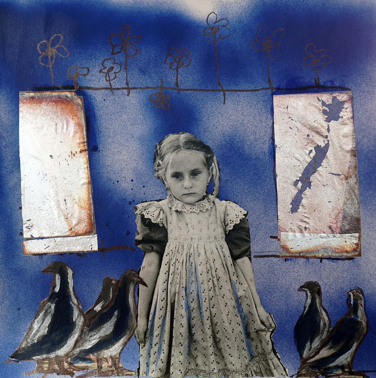 Angèle Straver_Zonder titel 2_mixed media_25x25