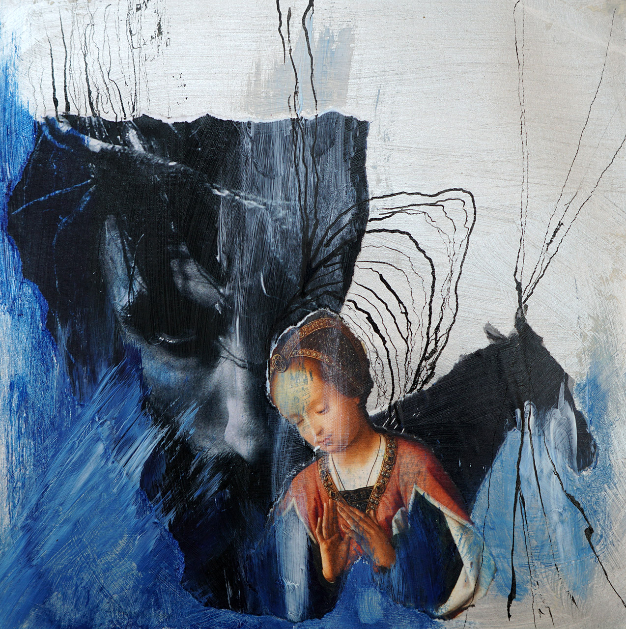 Angèle Straver_Zonder titel 5_mixed media_25x25