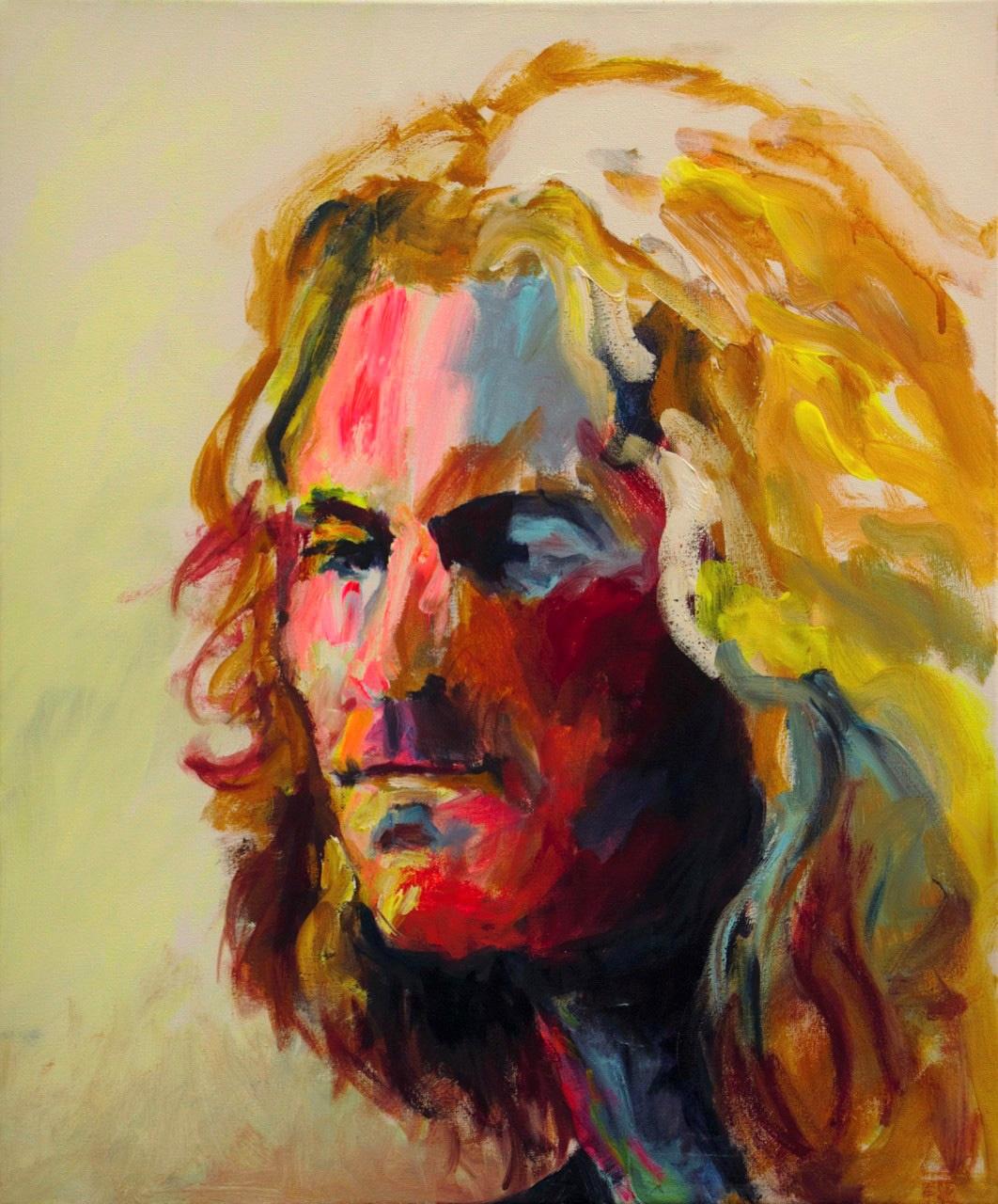 Fokkema_van_den_Berg_Gerdien_Portret_Acryl op doek_40X50 cm