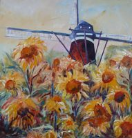 Gemoedelijkheid_2011_ Nuenen De Roosdonck_Bekkers Rina_acryl op doek_80x80