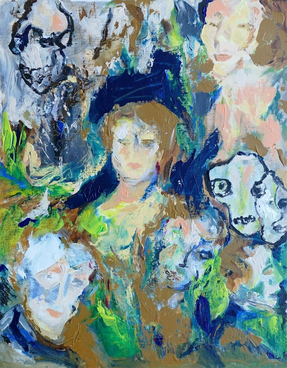 Marie-Lydie de Grood_Zonder titel 2_acryl op doek_40x50