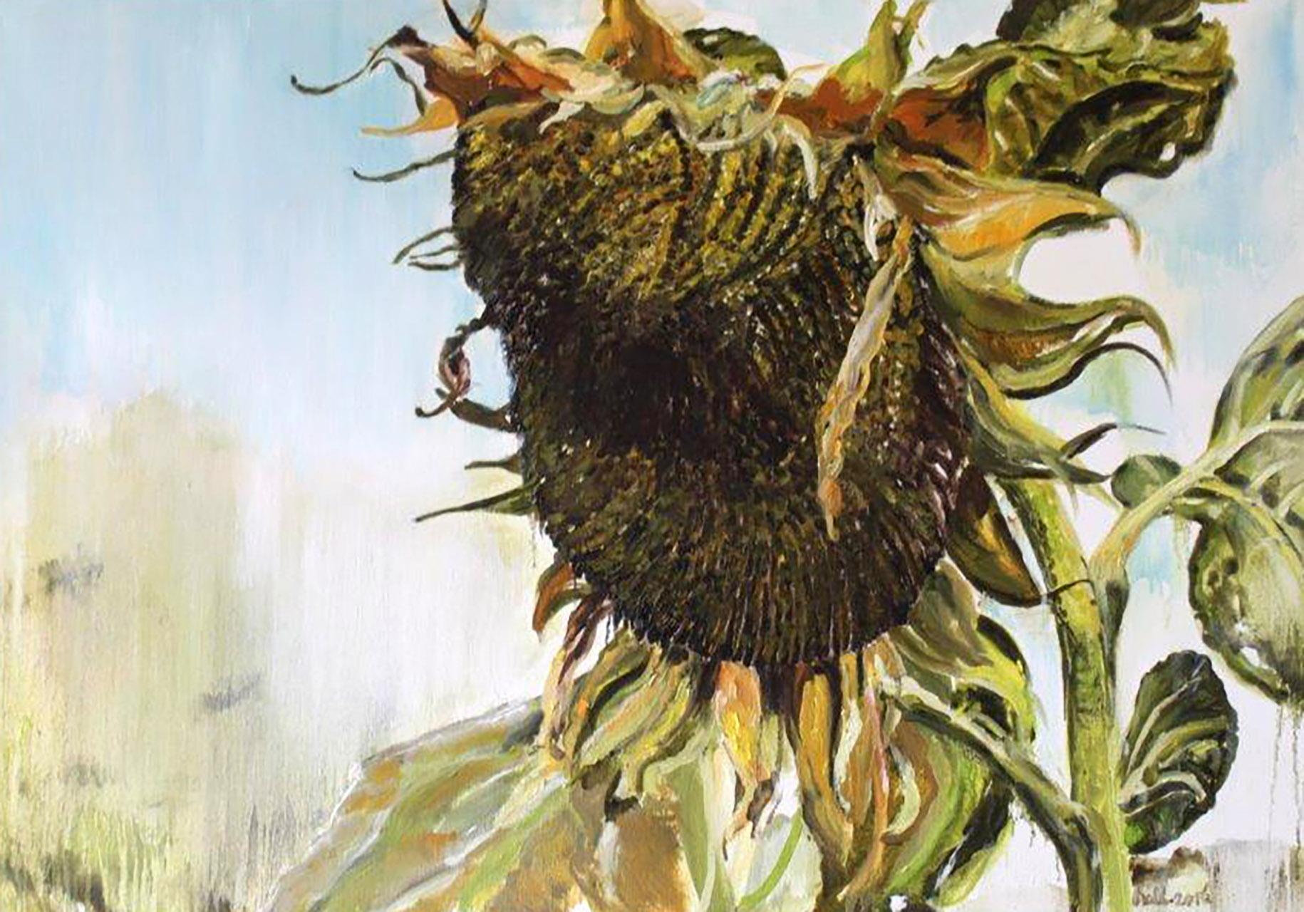 Nell van Eekeren_uit serie zonnebloemen_olieverf op linnen_70x100.jpg