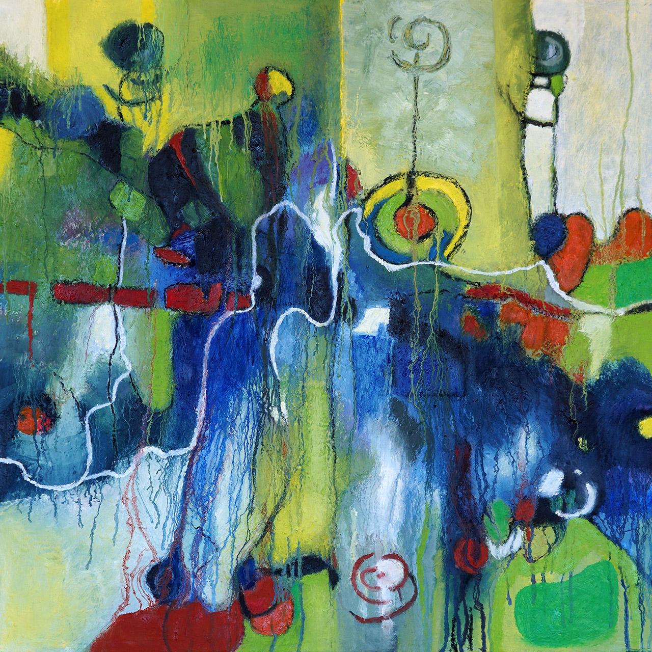 Nellie van Kemenade_Angels_olieverf op canvas_60x70