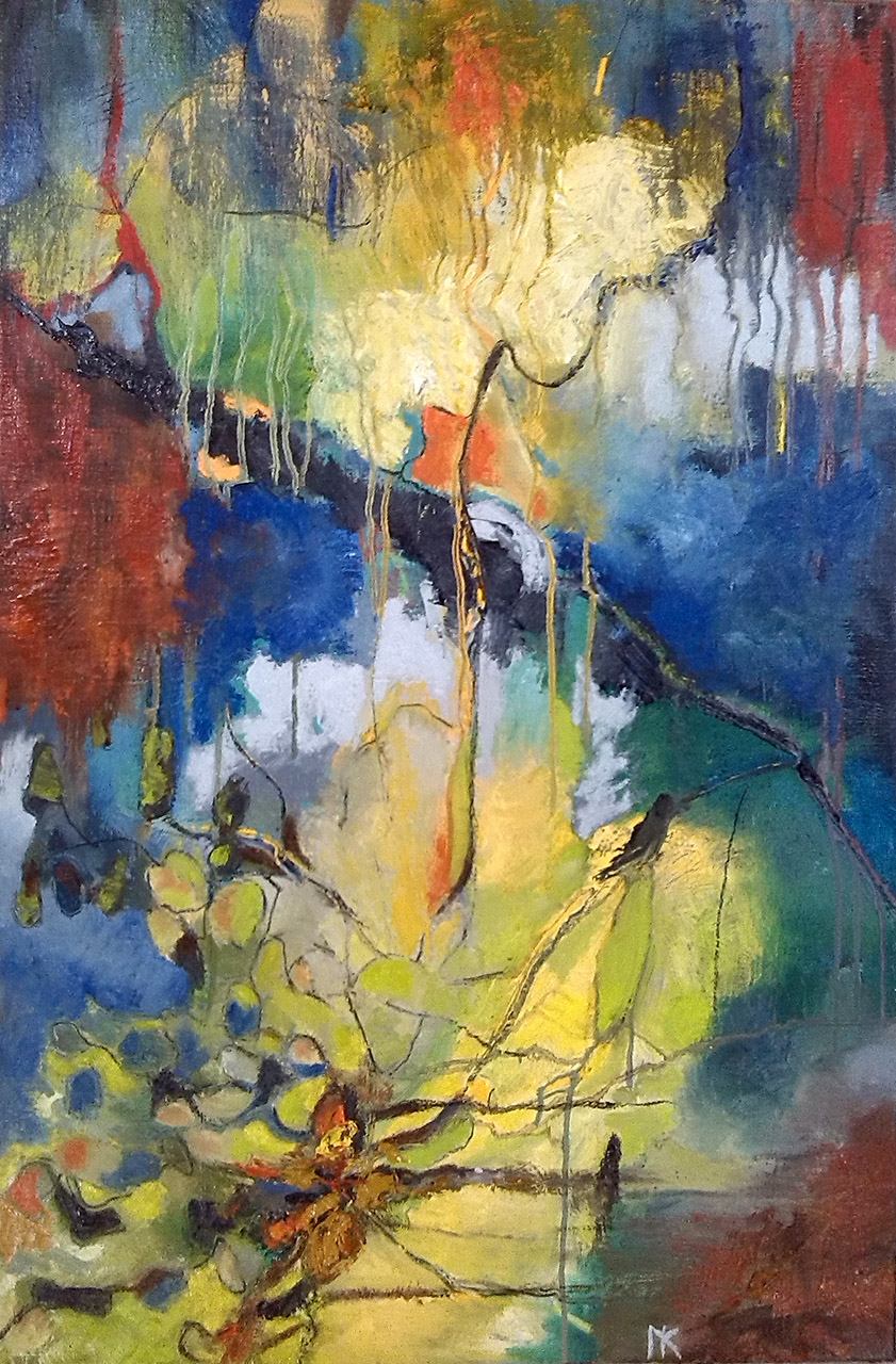 Nellie van Kemenade_Flierefluiter_olie op canvas_60x90