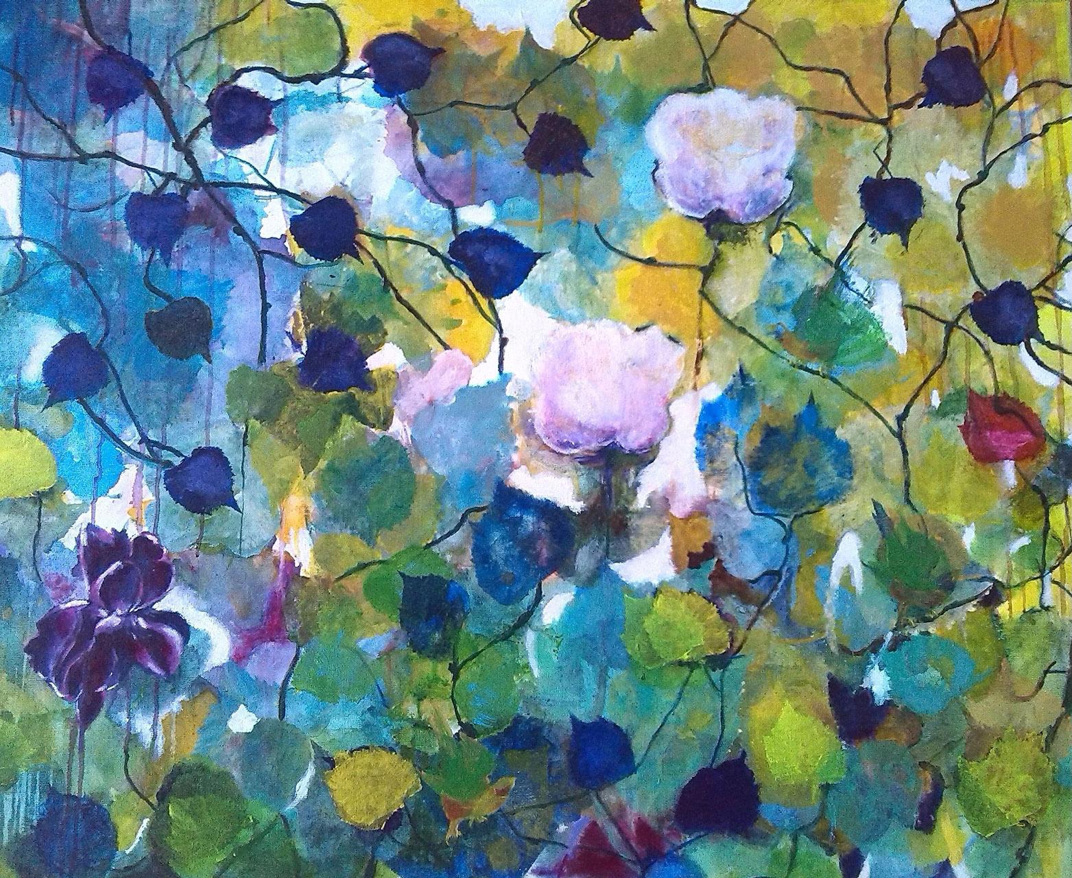 Nellie van Kemenade_Memories_acryl op canvas_80x120