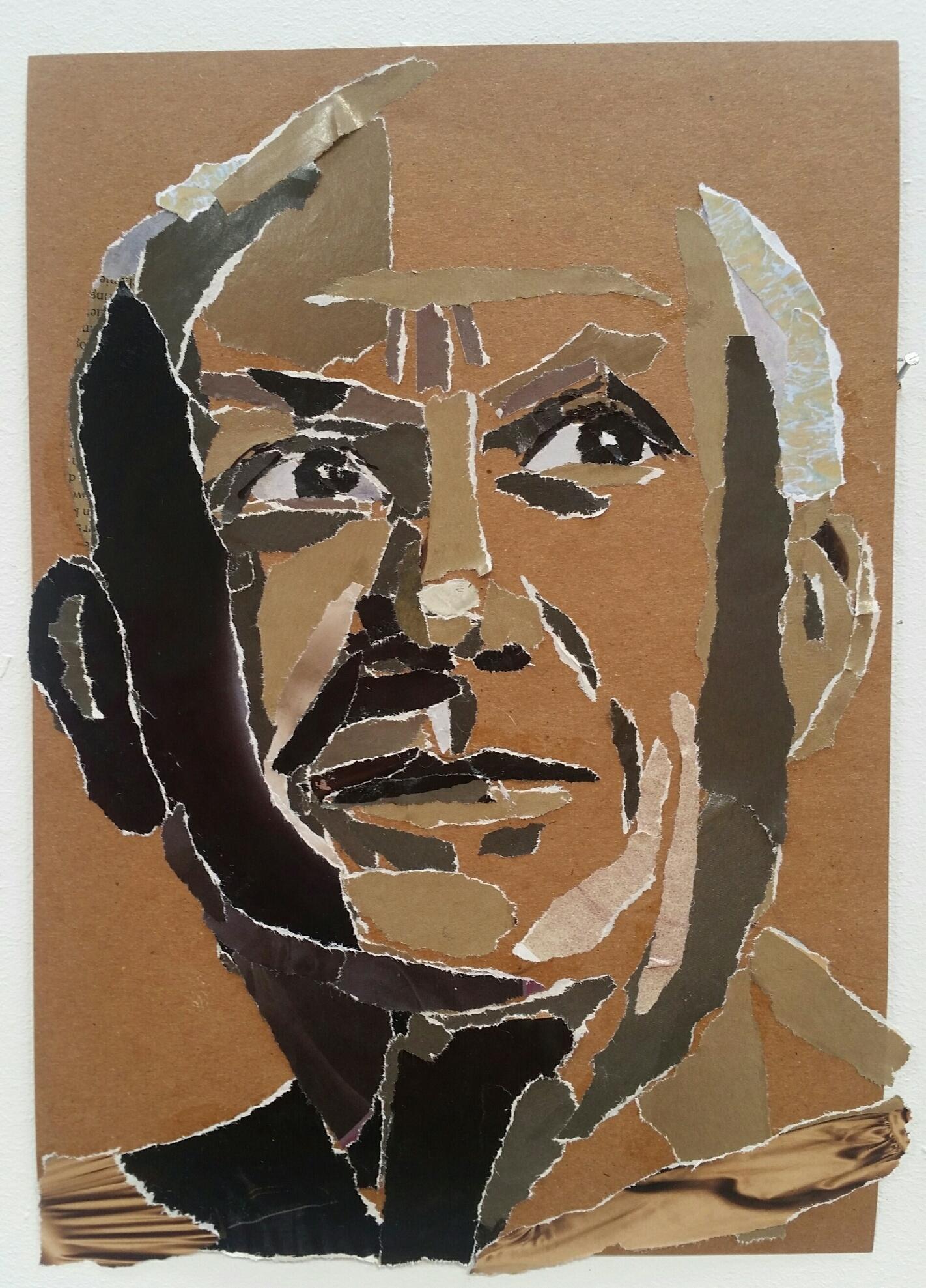Yozay (José Kreveld-Soons)_Paper-Picasso_collage op papier_20x30